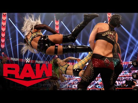 Rose & Brooke vs. Riott Squad vs. Evans & Royce vs. Baszler & Jax: Raw, Oct. 19, 2020