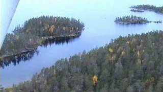 Inari Finland  City pictures : Finland - Suomi - Lapland - Lake Inari from the air