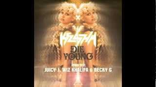 Ke$ha videoklipp Die Young (Remix) (feat. Juicy J, Wiz Khalifa & Becky G)