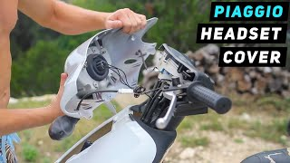 9. Piaggio Fly - Headlight / Handlebar Cover Removal