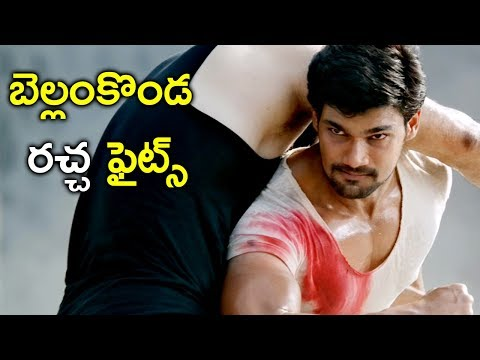 Hamsaladevi Fight Scene | Jaya Janaki Nayaka Back To Back Fight Scenes | Bhavani HD Movies