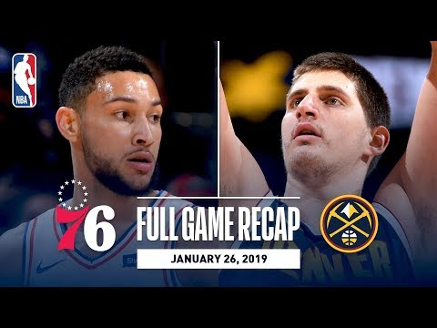 Video: Full Game Recap: 76ers vs Nuggets | Jokic Records His 7th Triple-Double Of The Season