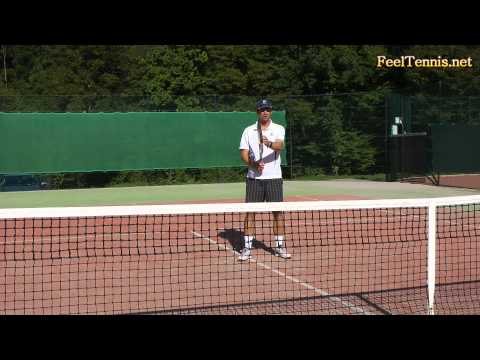 How To Hit A Tennis Volley – Tip For More Feel