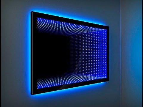 Световой туннель  зеркало