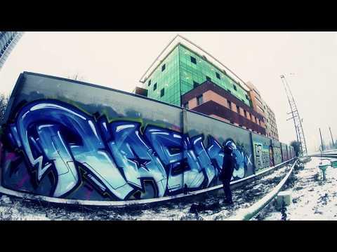 Rasko street video. Graffiti from Russia.