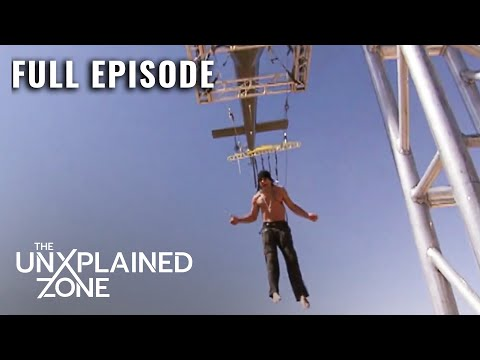 Preparing for BODY SUSPENSION by a Helicopter   Criss Angel: Mindfreak - Full Episode