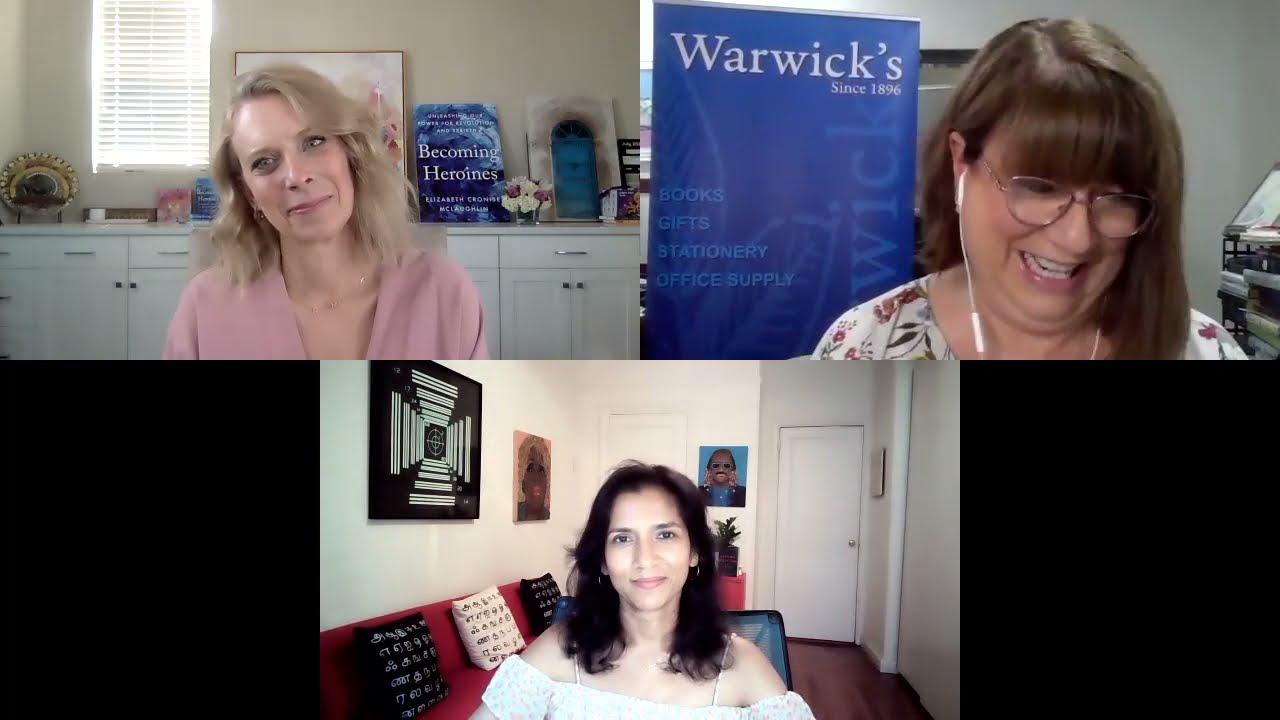 Elizabeth C. McLaughlin discussing BECOMING HEROINES w/Tanya Selvaratnam