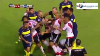 Video River Plate vs Boca Juniors 2-0 - Goles & Pelea - 28/Enero/2017 - Super Clasico 2017 MP3, 3GP, MP4, WEBM, AVI, FLV Agustus 2018