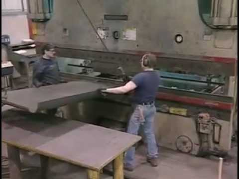 Cincinnati 175 & 350 Ton CNC Press Brake - Weldall Mfg