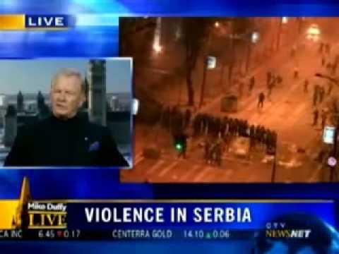 kosovo bombing - The UN Canadian General Lewis Mackenzie said it best,