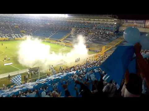 Gran Recibimiento De Alianza Fc contra Fas - La Ultra Blanca y Barra Brava 96 - Alianza