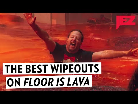 The Best Wipeouts on 'Floor Is Lava'