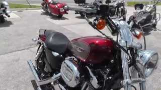 9. 439102 - 2009 Harley Davidson Sportster 1200 Custom - Used Motorcycle For Sale