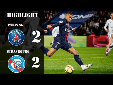 Paris SG vs Strasbourg | 2 - 2 | All Goals and Extended Highlights 07/04/2019
