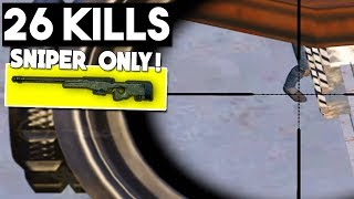 Video SNIPER ONLY CHALLENGE! | 26 KILLS | PUBG Mobile MP3, 3GP, MP4, WEBM, AVI, FLV Maret 2019