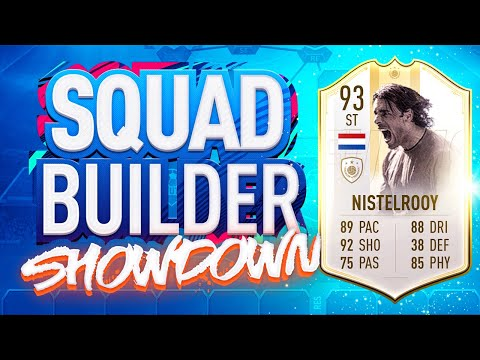 FIFA 19 SQUAD BUILDER SHOWDOWN!!! PRIME ICON MOMENTS VAN NISTELROOY!!!
