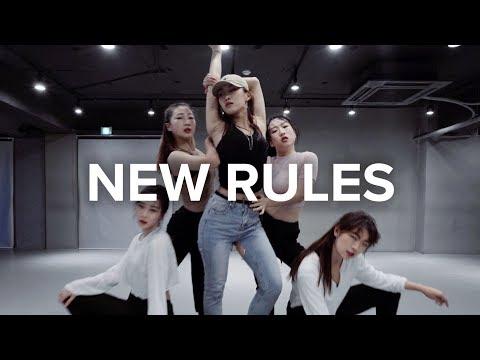 New Rules - Dua Lipa / Jin Lee Choreography (видео)