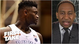 'Zion might not be the number 1 overall pick' – Stephen A. | First Take