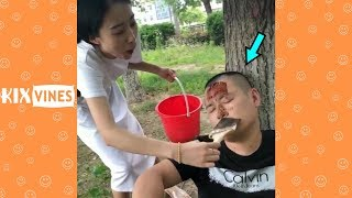 Video Funny videos 2018 ✦ Funny pranks try not to laugh challenge P12 MP3, 3GP, MP4, WEBM, AVI, FLV April 2019