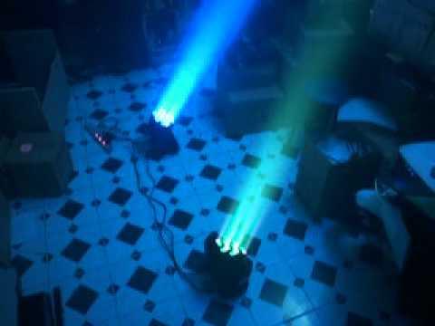 Đèn Moving Head led RGBW công suất 36x3w siêu sáng