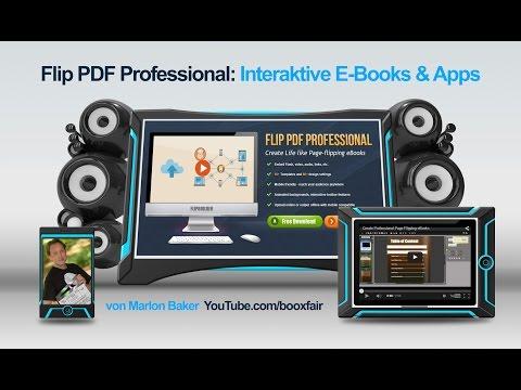Flip PDF Professional: Interaktive E-Books und Apps erstellen Teil 1