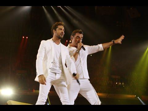 David Bisbal feat. De Toppers , Amsterdam Arena