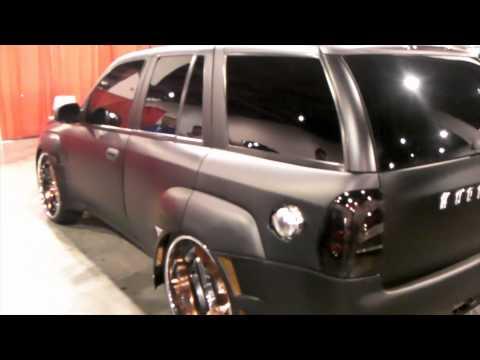 DUBSandTIRES.com 2006 Chevy Trailblazer Review 24 Inch Staggered 3PC Wheels Asanti Forgiato Rims