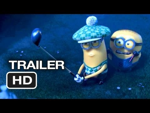 Trailer - Despicable Me 2 - TRAILER 2 (2012) Steve Carell, Kristen Wiig Animated Movie HD Video