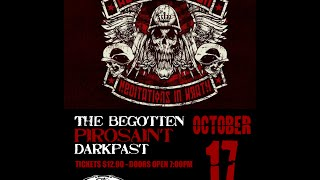 OCT 17th - Alekhine's Gun with The Begotten / Pirosaint / Darkpast