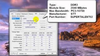 Запуск и работа с программой CPU-Z