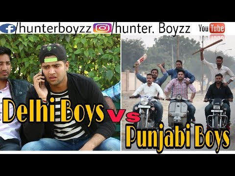 Delhi Boys Vs Punjabi Boys | Hunter boyzz