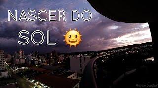 Nascer do sol - time lapse Unaí MG
