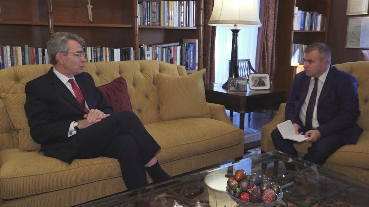 Τζ. Πάιατ στο ΑΠΕ-ΜΠΕ: «Να αναδείξουμε με θετικό τρόπο τις ευκαιρίες που παρουσιάζει η Ελλάδα»