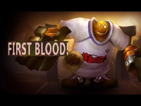 League of Legends - Let's get first blood