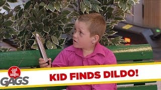Kid Finds Mom's Dildo