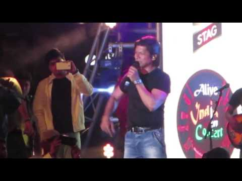 Shaan Live in Bengaluru 6 @ Alive India In Concert Season 4 @ Phoenix Marketcity - 04 Dec 2015 HD