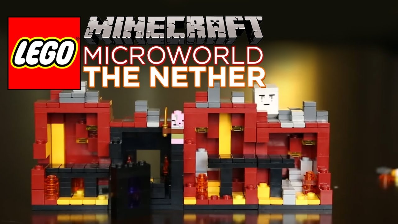 Minecraft LEGO Nether