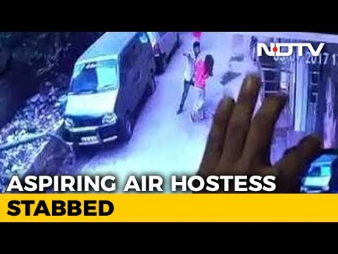 Video CCTV Shows Young Delhi Woman Being Stabbed By Man, She Died download in MP3, 3GP, MP4, WEBM, AVI, FLV January 2017