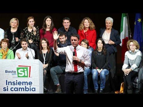 Ματέο Ρέντσι: Επί ψήφου κρεμάμενος