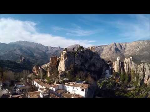 El Castell de Guadalest Drone Video