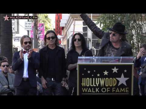 Maná Walk of Fame Ceremony