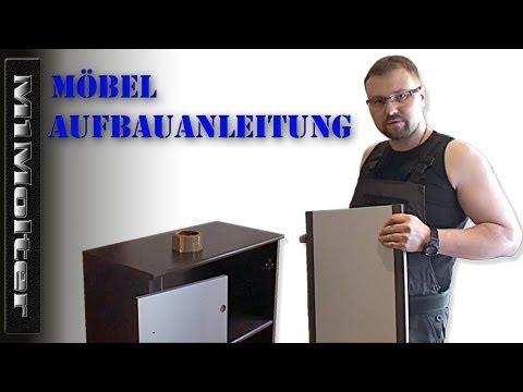 Möbel aufbauen wie?  Anleitung von M1Molter