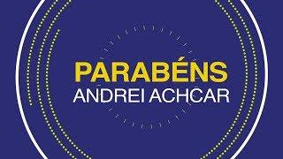 Msg de aniversário - Feliz aniversário, Andrei Achcar!