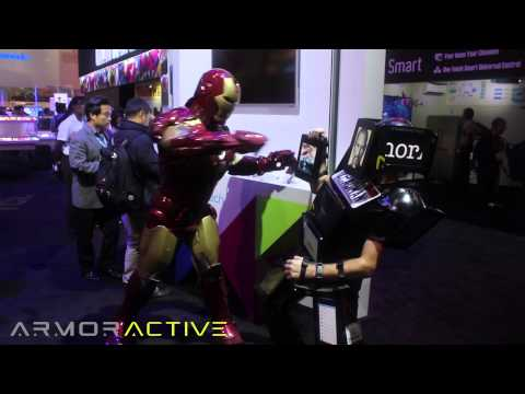 iPadMan Makes 1st Appearance at CES 2013