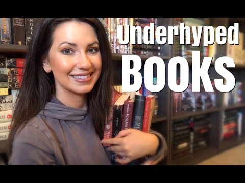 UNDERHYPED BOOK RECOMMENDATIONS