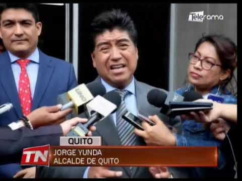 Alcalde Yunda interpuso una denuncia por actos vandálicos contra Quito