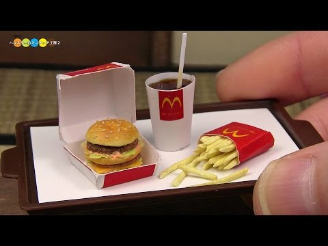 How to Make a Mini McDonald s Big Mac Meal