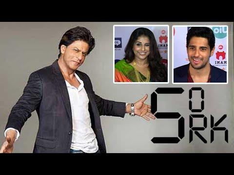 Shah Rukh Khan Turns 50 | Sidharth Malhotra, Alia