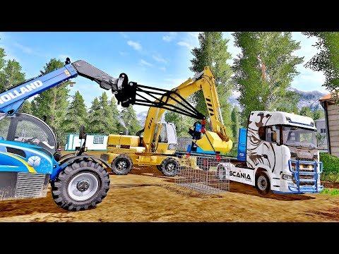 Excavator Liebherr 902 Pack v1.0