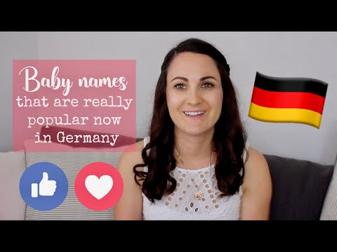 Surprised by the most popular baby names in Germany!